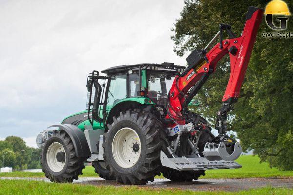 Гидроманипулятор своими руками на трактор для леса 17